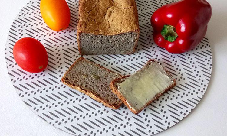 chleb bezglutenowy bez jajek i mleka
